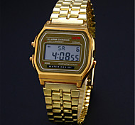 Fashion Models Without Mark Gold And Silver Light F91W Ultra-thin LED Electronic Watch Wrist Watch Cool Watch Unique Watch