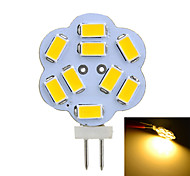 1 Stück Marsing Dekorativ LED Doppel-Pin Leuchten T G4 2W 100-200 LM 3500/6500 K 9 SMD 5730 Warmes Weiß / Kühles Weiß DC 12 / AC 12 V