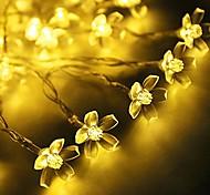 King Ro 20LED Blossom Battery Led  String Light Outdoor Waterproof String Light(KL0016-RGB,White,Warm White)
