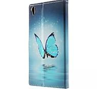buena calidad de la PU del tirón del cuero del teléfono móvil de la caja para Sony Xperia z3 / xperia mini-z3 / xperia Z4 / xperia mini-Z4