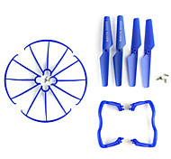 SYMA X5C / X5A SYMA Propellers / Landing Legs / Propeller Guards / Parts Accessories RC Quadcopters / Drones Blue