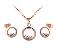 Alloy Jewelry Set Necklace/Earrings Party / Daily / Casual / Sports 2pcs