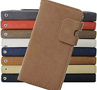 Wallet Style PU Leather Case with and Card Slot for Samsung Galaxy Note 2 Note 3 Note 4 Note 5 edge(Assorted Colors)