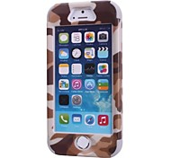Camouflage Fashion Mobile Phone Protection Shell for iPhone 5/5 s (Multi-Color Optional)