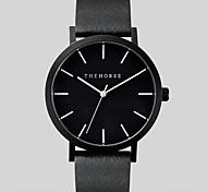 Unisex Watch Genuine Leather Japaneze Quartz Movement Case Water Resistant 3ATM Watch For Women Famous Men Wrist Watch Cool Watch Unique Watch