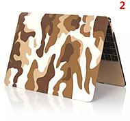 2016 Best Quality Camouflage Color PVC Full MacBook Case for MacBook Retina 15.4 inch