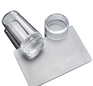1 set  Nail Transparent Lid Seal