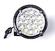 carking ™ универсальный 18 обведены стиль автомобиля DRL дневного света / туман светло-белый свет (2шт)