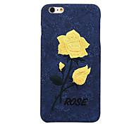 chic steeg borduurwerk dekking voor elegante retro art handgemaakte bloem case voor de iPhone 6 / iphone 6s