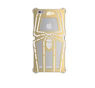 especial design de luxo spider-man caixa do telefone do metal na moda para iPhone 6 / 6s (cores sortidas)