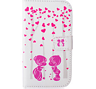 Loving  Pattern PU Leather Case with Money Holder Card Slot for Galaxy Grand Neo/Galaxy Grand Prime/Galaxy Core Prime