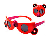 Kids Fashion Cute Cartoon Bear Foldable Sunglasses (Random Color)