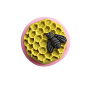 Bee Cellular Silicone Handmade Soap/Cake/Chocolate Mold