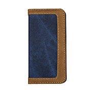 CaseMe Brand Jeans  PU Leather Wallet Card Slot Cover Flip Case with Stand for Iphone 6/6S