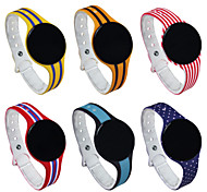 mais novo do bluetooth pulseira colorida pulseira inteligente rastreador inteligente monitor de sono de fitness