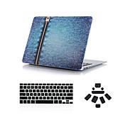 """3 in 1 bull-puncher ontwerp full body case + afdekking van het toetsenbord + stof plug voor MacBook Pro 13 """"/ 15"""""""