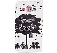 Bicycle Lover PU leather with Stand Case for Samsung G360