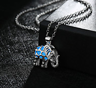 New Magical Glow in the Dark Luminous Cute Small Elephant Pendant Necklace