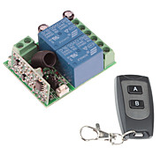 12V 2-Channel Wireless Remote Power Relay Module with Remote Controller (Input DC12V ,Output 30-250V)