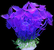 Aquarium Decoration Ornament / Waterplant Artificial / Non-toxic & Tasteless Plastic