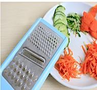 New 3 In 1 Multifunction Vegetable Fruit Cutter Slicer Shredder Veg Carving Tool Random Color