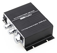 Mini Hi-Fi Amplifier For Ipod Mp3 Stereo For Car Motorcycle Home 12V/2A Black