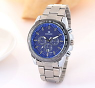 Men's Fashion Business Stainless Steel Quartz Watch Wrist Watch Cool Watch Unique Watch