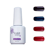 ILuve Gel Nail Polish Set - Pack Of 4 - Long Lasting 3 Weeks Soak Off UV Led Gel Varnish – For Nail Art #4010