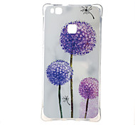 For Huawei Case Shockproof / Pattern Case Back Cover Case Dandelion Soft TPU Huawei