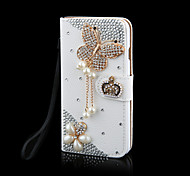 Luxury Bling Crystal & Diamond Leather Flip Bag For SamsungGalaxyGalaxyS2/ S3/S4/S5/S6/S6E/S7/S6E PLUS(Assorted Colors)