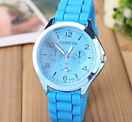 Women's Fashion Quartz Watch Rubber Band