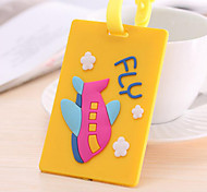 Travel Inflated Mat / Luggage Tag Luggage Accessory Silica Gel Blue / Yellow