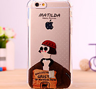 Cartoon Mathilda Design Cover for IPhone 6 Iphone6S