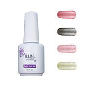ILuve Gel Nail Polish Set - Pack Of 4 - Long Lasting 3 Weeks Soak Off UV Led Gel Varnish – For Nail Art #4027