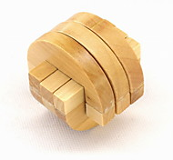 Fashion Wood Interlocking Puzzle Unlock Loop Decompression Toys