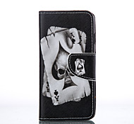 Spade K  Painted PU Phone Case for iphone5SE