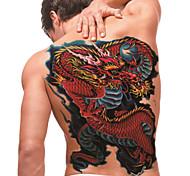 временную татуировку (полный назад) - дракона (2 шт)