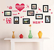 Photo Memories Transparent Green Bedroom Wall Stickers