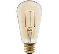 1 pieza GMY E26/E27 2W 2 COB ≥180 lm Blanco Cálido ST58 edison Cosecha Bombillas de Filamento LED AC 100-240 V