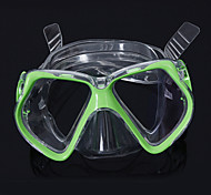 Diving Masks Swim Mask Goggle Diving / Snorkeling Swimming silicone Blue