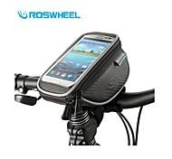 Roswheel Size M Mountain Bike Handlebar Bag Cycling Phone Case Waterproof Touch Screen Ciclismo Bolsa