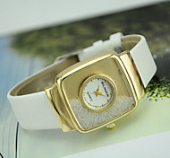 Women's  Fashion Personality Quicksand Quartz  Leather Lady Watch Cool Watches Unique Watches