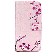 Flower Pattern PU Leather Case with Money Holder Card Slot for Galaxy Grand Neo/Galaxy Grand Prime/Galaxy Core Prime