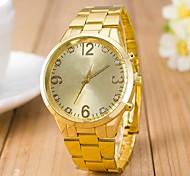 L.WEST Ladies' Diamonds Steel Belt Quartz Watch Cool Watches Unique Watches