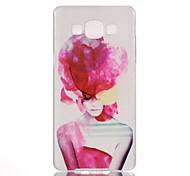 pink lady Muster PC-Telefonkasten für Samsung-Galaxie a5 / A3 / A3 (2016) / a5 (2016) / a7 (2016)