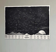 Scratch Star Map Of The World Constellation Wall Paper