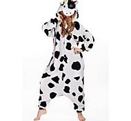 nouvelle vache cosplay polaire kigurumi adulte pyjama