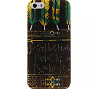 Tribal pattern Design IMD+TPU Back Cover Case iPhone SE iPhone 5 iPhone 5S