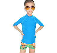 Others Kid's Tops / Rash guard / Wetsuit Skin Diving Suit Ultraviolet Resistant Dive Skins  3 to 3.4 mm Yellow / White / Black / BlueXXS