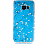Stars  Pattern TPU Phone Case For Samsung Galaxy S7 /S7 Edge